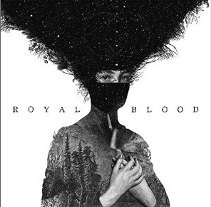 album cover for the debut CD from Royal Blood